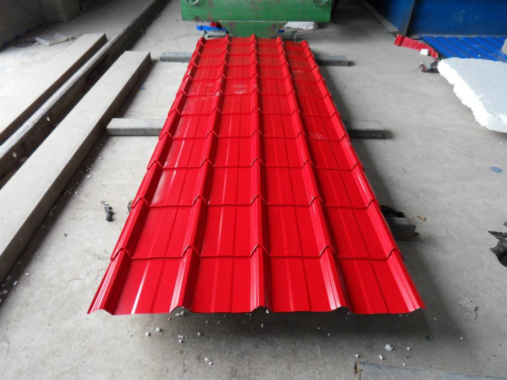 galvanized color steel plate