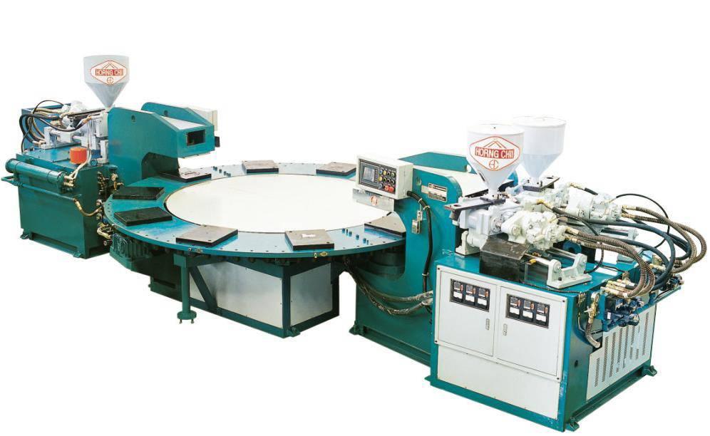 Three Colors PVC Upper Machine