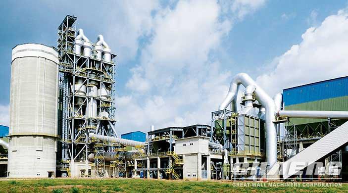 1000 tpd cement plant