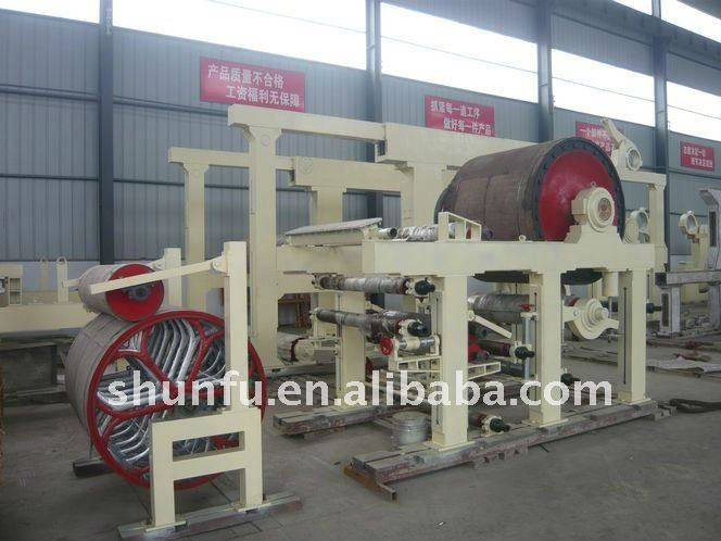 1575 Mm Model Double-Cylinder Carton Paper Machine
