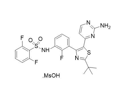 Dabrafenib Mesylate (CAS NO.:1195768-06-9)