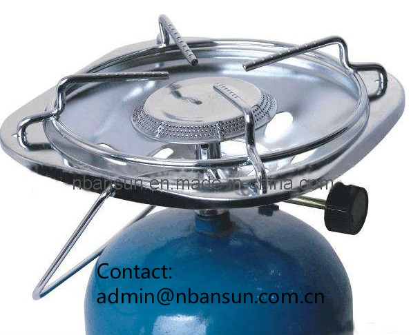 Portable Picnic Gas Stove Cylinders, Gas Burner for BBQ (as-10)