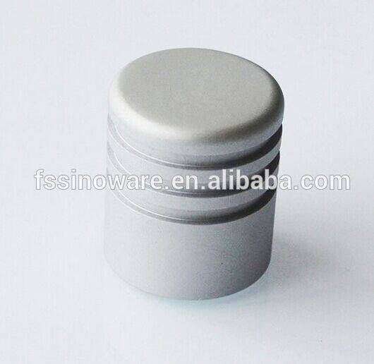 Foshan Cylinder Aluminum  knob for furniture