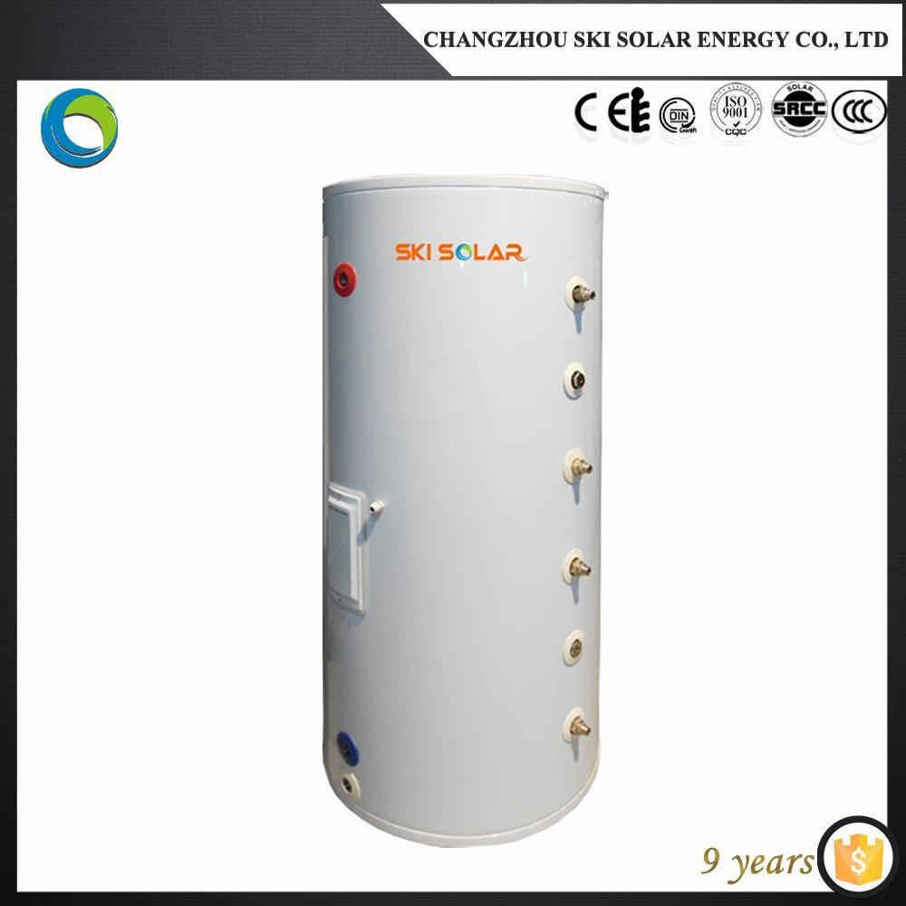 Enamel water tank;heat pump water heaters