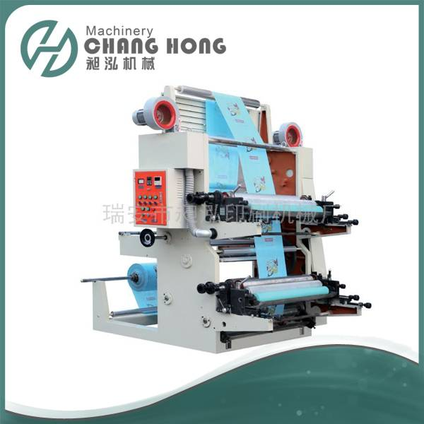 CH802-800 2 Color Flexographic Printing Machine