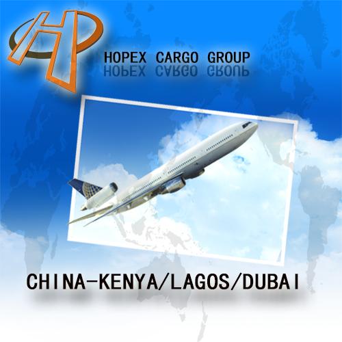 Guanzhou to Kenya air cargo