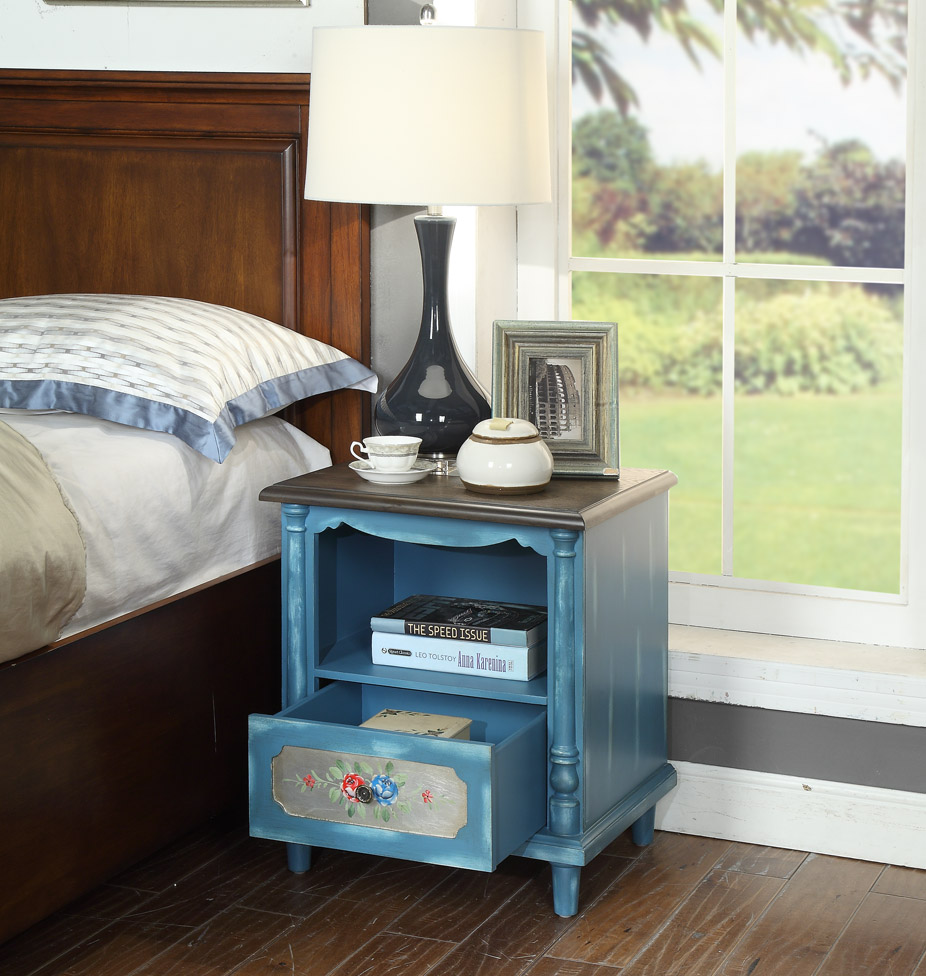 solid wood bedside cabinet night stand table