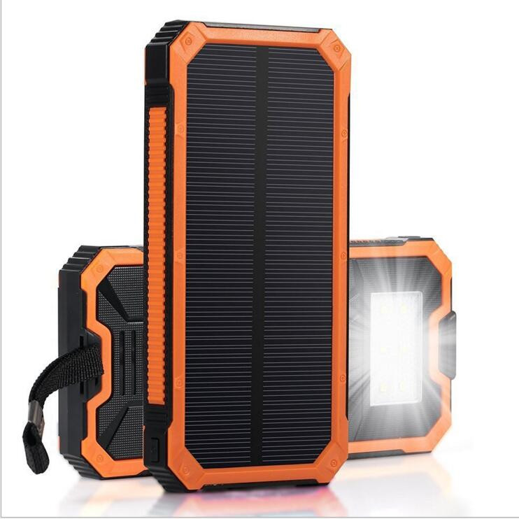 2018 New portable charger mobile solar power bank for ipone 8