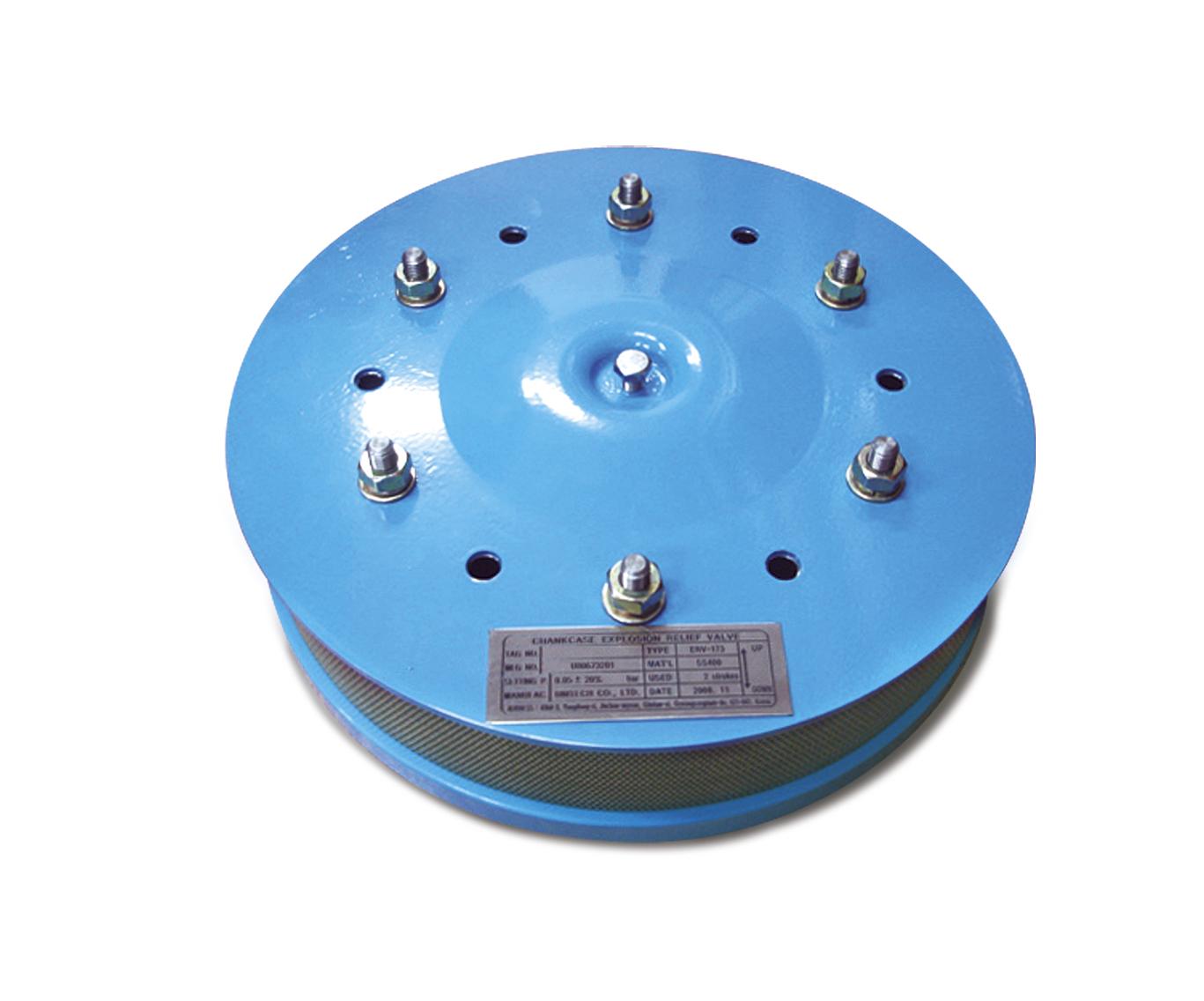 Crankcase explosion relief valve