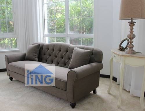 Most popular living room fabric uphostery sofa set