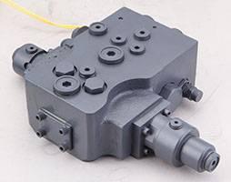 hydraulic slewing cushion valve