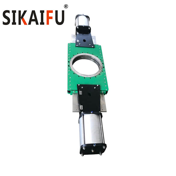 Factory Supply Water treatment Industry Using Double Plate Knife Gate Valve