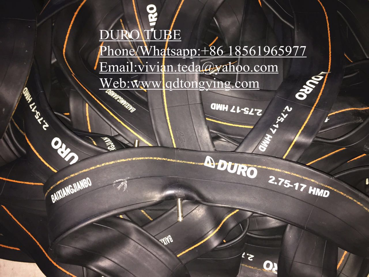 DURO motorcycle tube