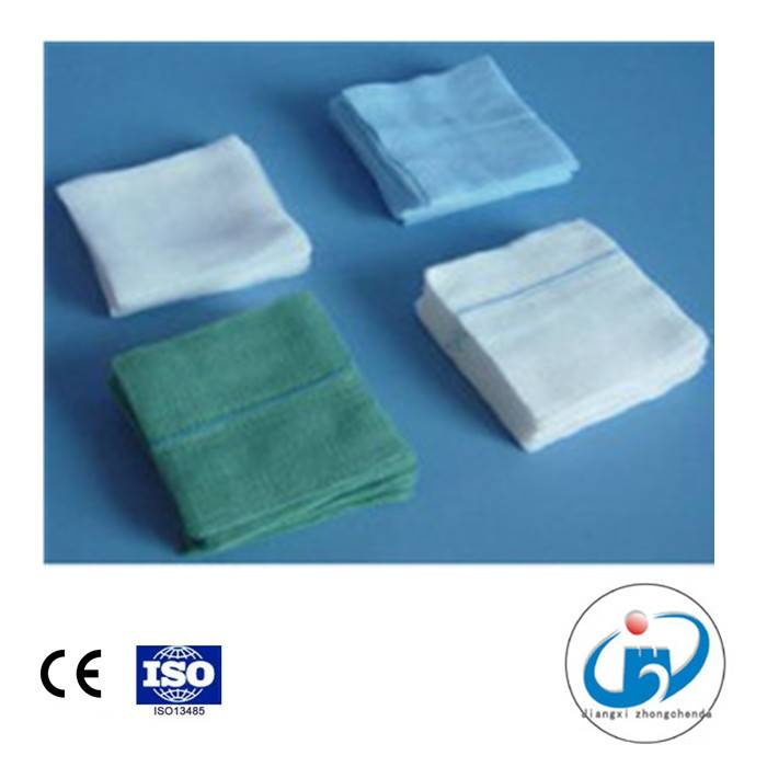 Non Sterile Gauze Swab with Detectable X-ray Thread