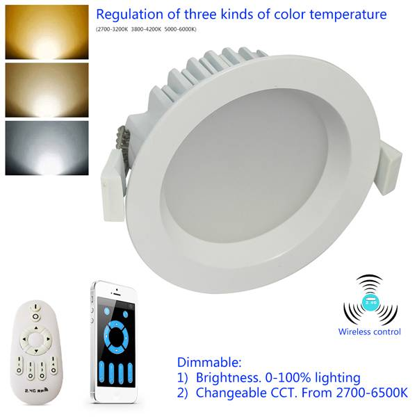 Cutout170mm 18W LED Downlight Dimmable