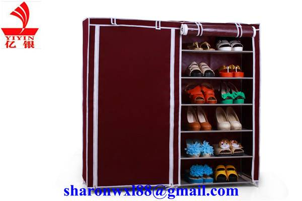Luxurious amazing foldable metal storage rack with cover