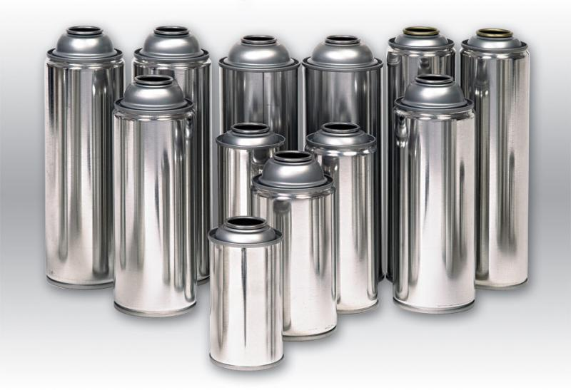 OEM empty aerosol cans with various size