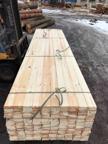 Pine Wood Lumber.Edged/Unedged, KD, MC:12-18%