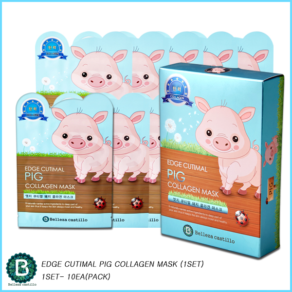 EDGE CUTIMAL  PIG COLLAGEN MASK