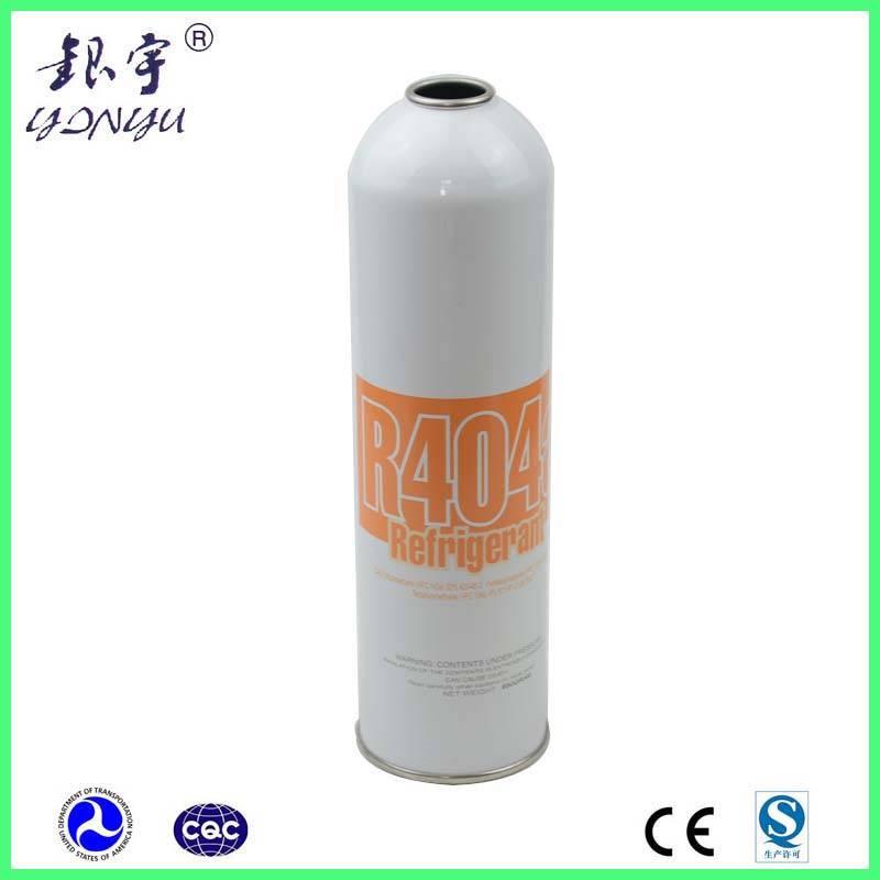Empty R134a gas can to fill 12oz refrigerant gas R404