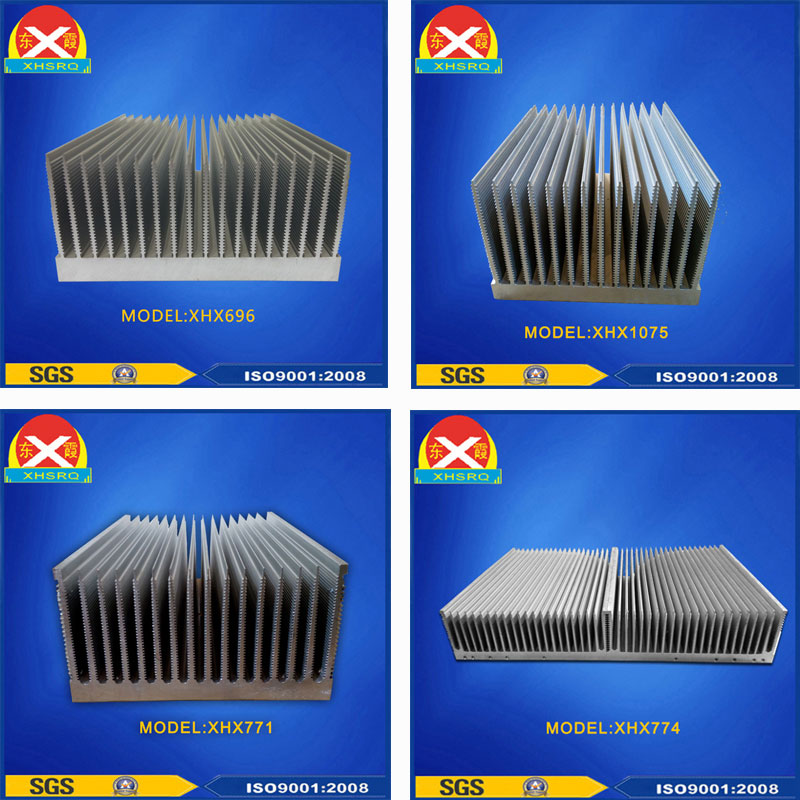 Aluminum Extrusion Heat Sink 6063 for MIG welder