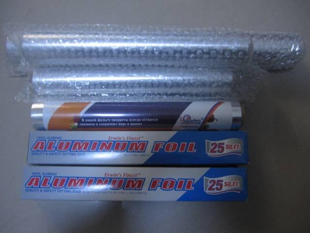 Home kitchen cooking aluminum foil,food grade aluminium foil,household foil