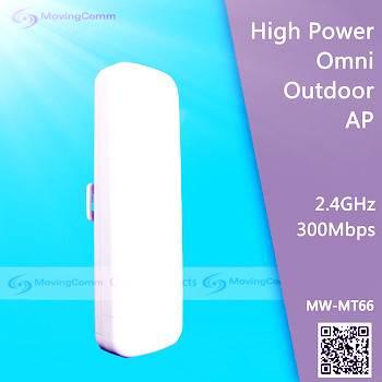 2.4G 300Mbps High Power Outdoor CPE /WiFi AP/Gateway/Bridge/AP