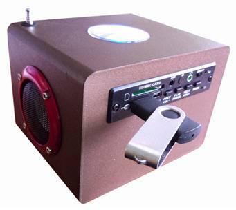 Mini speaker digital sound box (A-27)