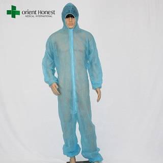 PP non-woven disposal protective coveralls