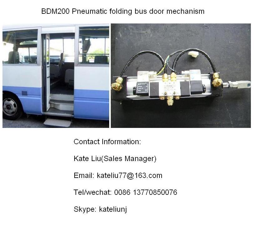 Pneumaitc folding bus door mechanism For Minibus and City Bus(BDM200)