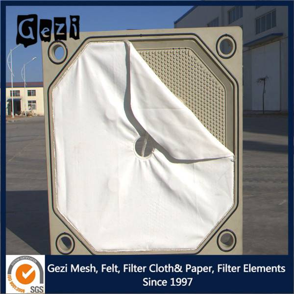 Gezi factory supply PE filtering cloth with good chemical resistance
