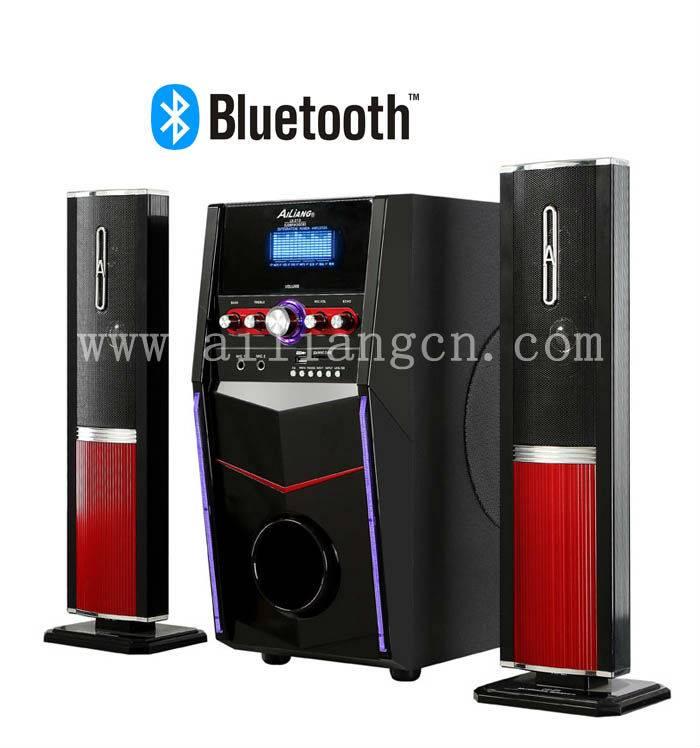 Bluetooth subwoofer speaker USBFM-3006D/2.1