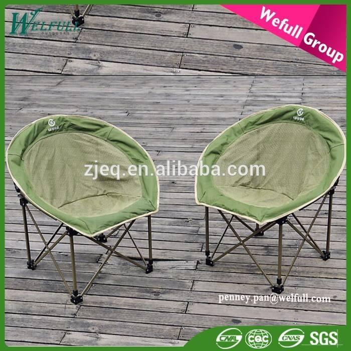 2015 Polyester Summer Use Wholesale Massage adult Folding Half Moon Chair