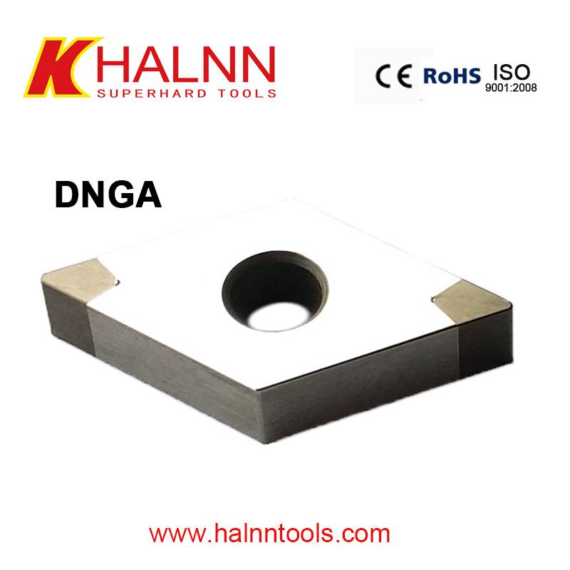 Halnn BN-K20 CBN insert help manufacturers improve the working efficiency with finish turning brake