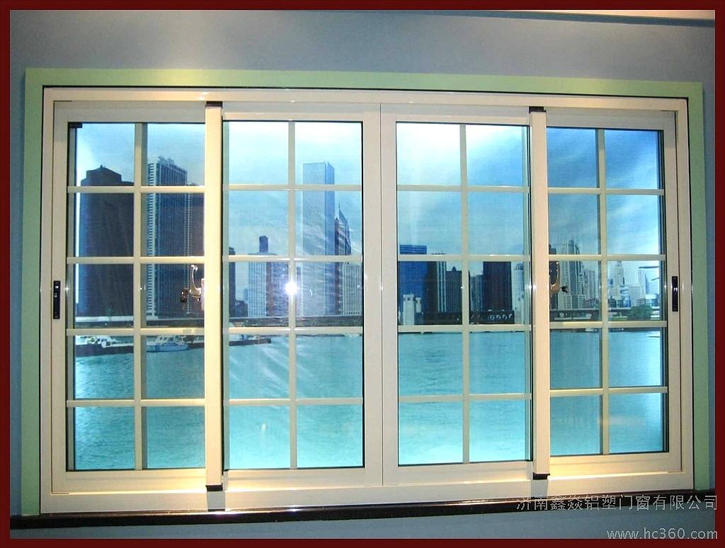 Broken bridge aluminium alloy frame sliding door with factory price