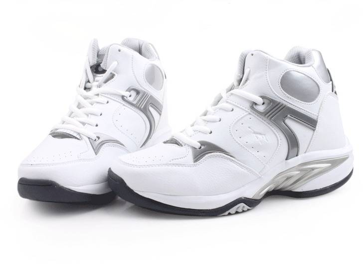Sporty height increasing elevator shoes for men grow taller 8CM