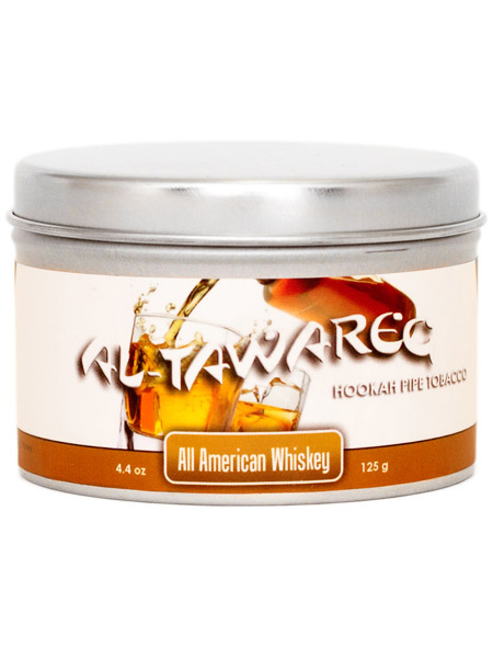 All American Whiskey Al Tawareg Shisha Tobacco