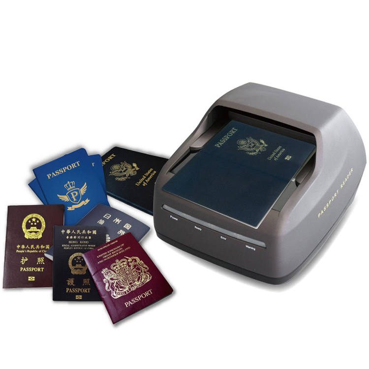 hotel check-in passport scanner