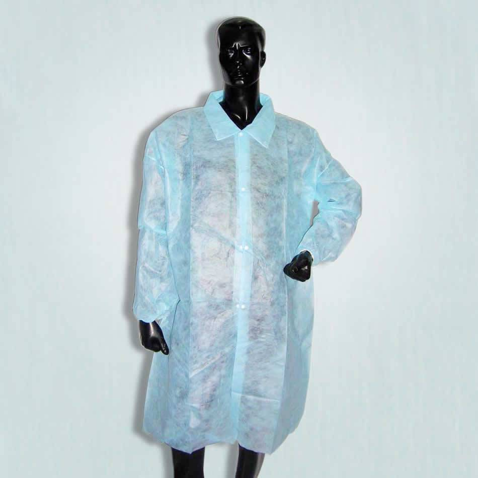 Disposable Microporous Lab Coat