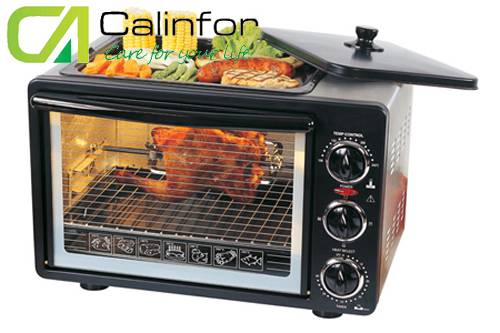 Kitchen Appliance chambers electric oven