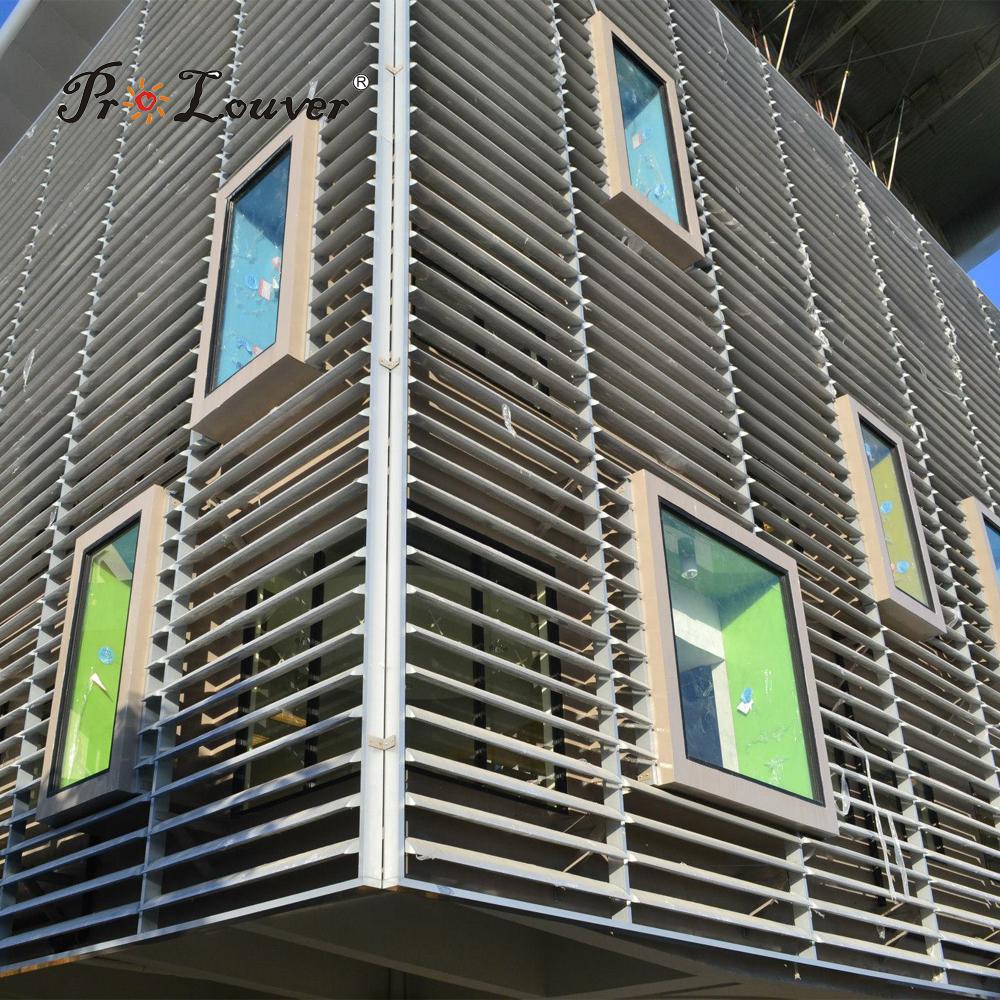 Hot saleModern House External Aerofoil laluminum window louver