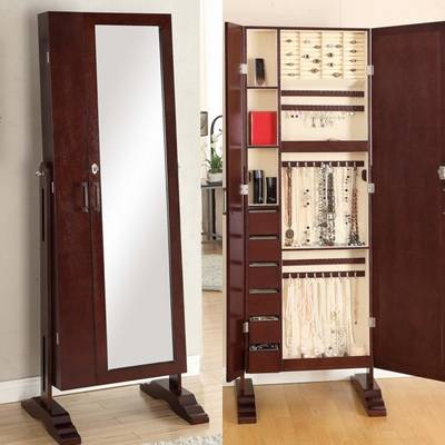 2013 New Style Jewelry Armoire Cabinet double doors