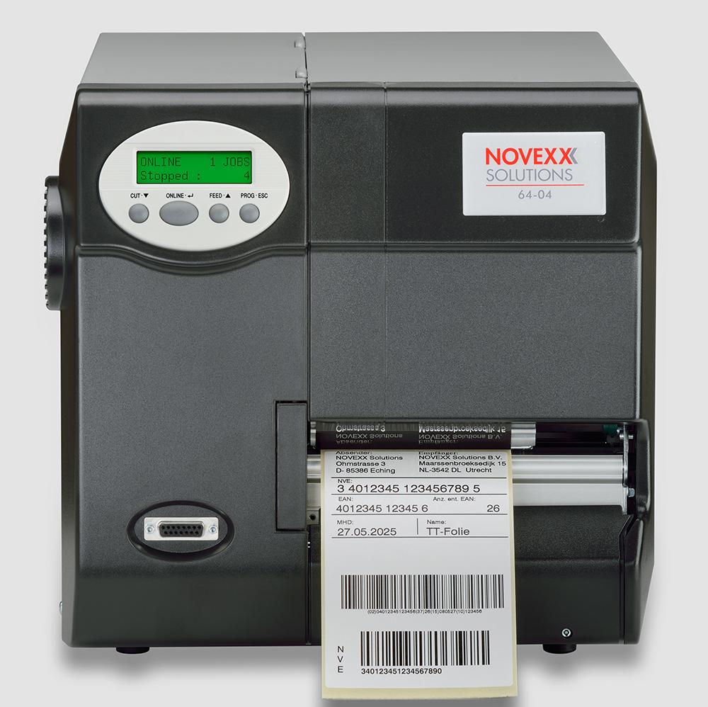 Novexx 6404 Thermal Label Printer