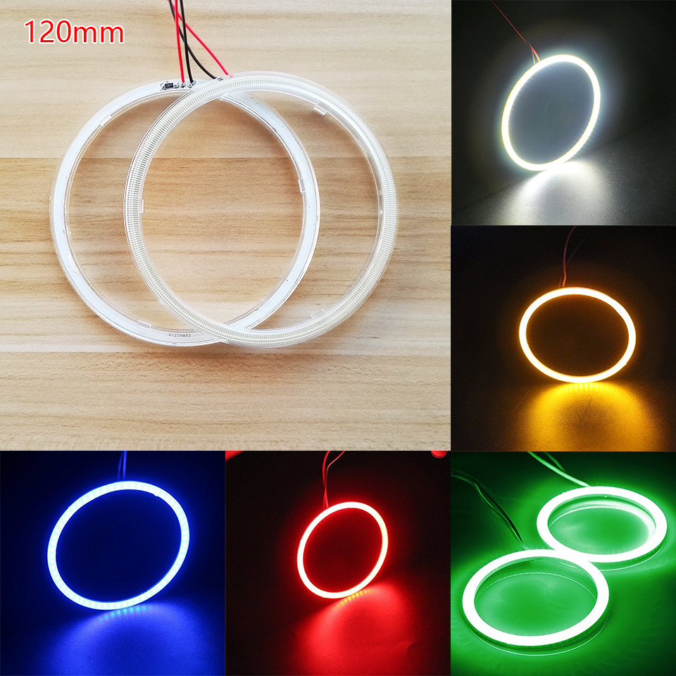 120mm Wholesale Halo Rings LED Angel Eyes DRL