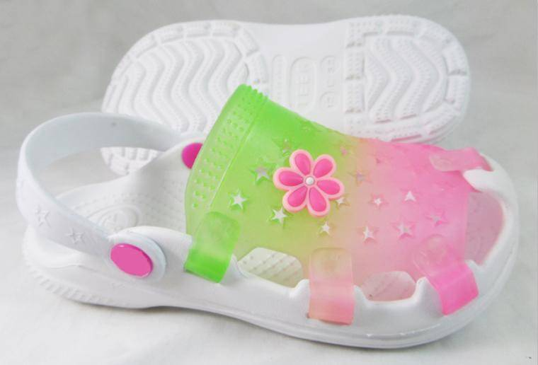 Cute children clogs