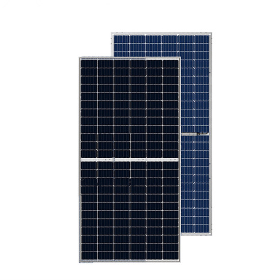 Bifacial PERC mono solar panel 415w - 435w half cell double glass mono solar panel