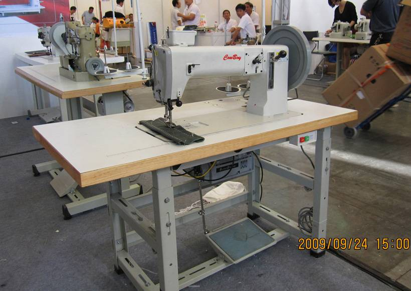 #7243 Extra Heavy Duty Unison Feed Thick Thread Sewing Machine