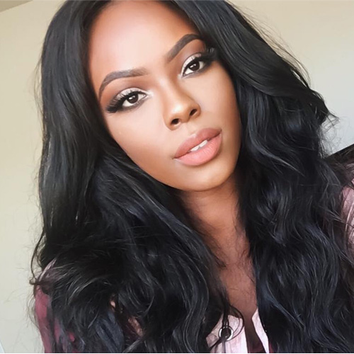 [8A]3 Bundles peruvian Body Wave Hair Weave With Lace Closure