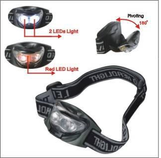 High Power Portable waterproof Red LED Headlamp