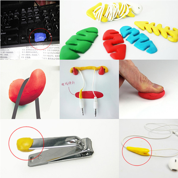 Best selling items multi-functional V-tie self-setting silicone Sugru mouldable glue